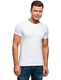 oodji Ultra Homme T-Shirt Basique sans Étiquette (Lot DE 2)
