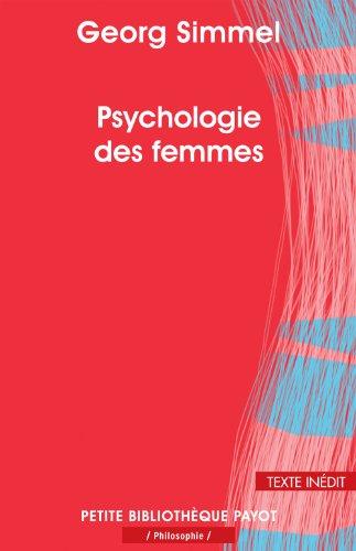 Psychologie des femmes (PR.PA.PF.PHILO.) por Georg Simmel