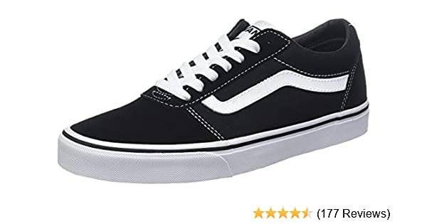 cc1d7187 Vans Men's Ward Suede/Canvas Low-Top Sneakers