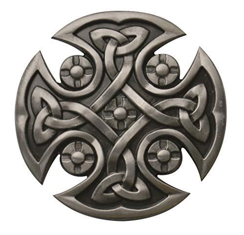 Buckle Gürtelschnalle Celtic Cross Keltisches Kreuz ()