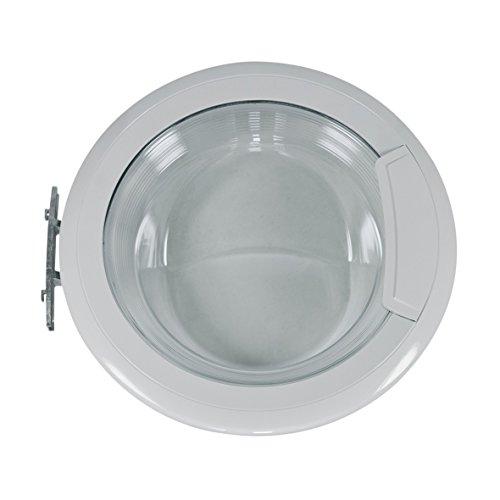 Whirlpool Bauknecht 481010604375 ORIGINAL Tür Bullauge Fenster mit Türaußenring Frontglasscheibe Türinnenring Türgriff Scharnier Waschmaschine auch Privileg Indesit C00443216 -