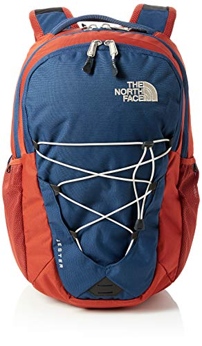 THE NORTH FACE Jester Rucksack Shady Blue/Gingerbread Brown, One Size