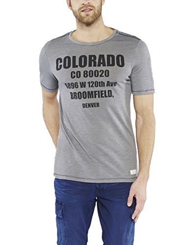 Colorado Denim Herren T-Shirt Rockmond Grau (CASTLEROCK 9112)