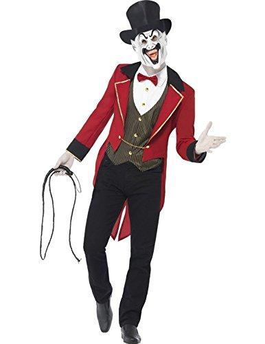 r Kostüm für Erwachsene (Böse Zirkusdirektor Kostüme)