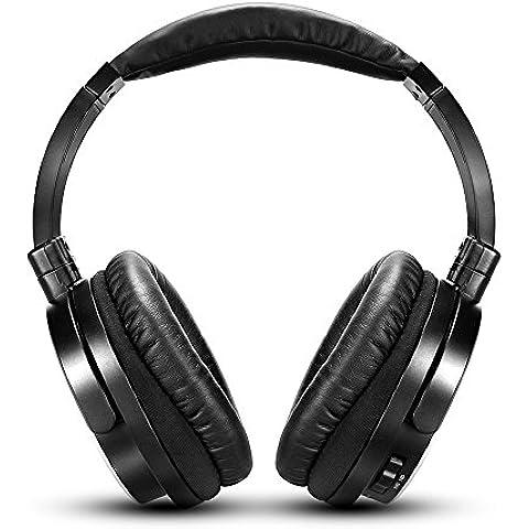 Active Noise Cancelling cuffie con filo, HIFI Auricolari con Microfono