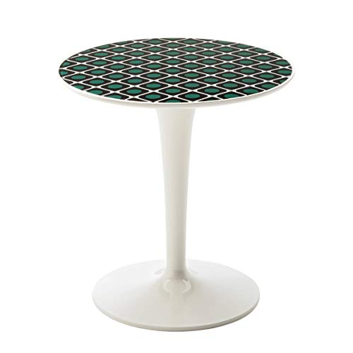 Kartell Table d'appoint Tip Top la Doublej 8611 CC, Presse Olive