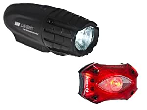 Moon Front and Shield Light Set - Black