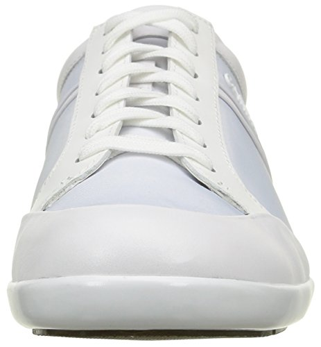 Calvin Klein Darwin, Baskets Homme Blanc (Wht/Shiny Calf)