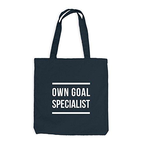 Jutebeutel - Own Goal Specialist - Game Eigentor Dunkelgrau