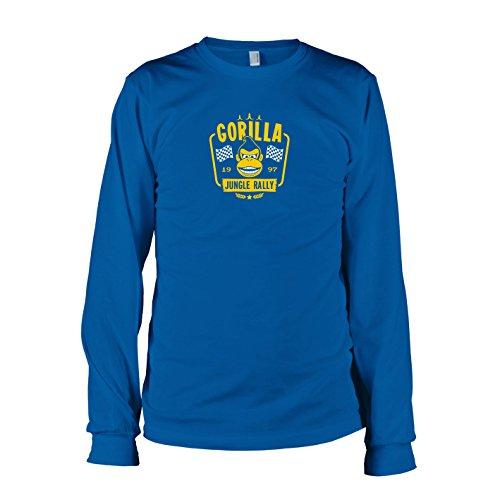 TEXLAB - Gorilla Jungle Rally - Langarm T-Shirt Marine