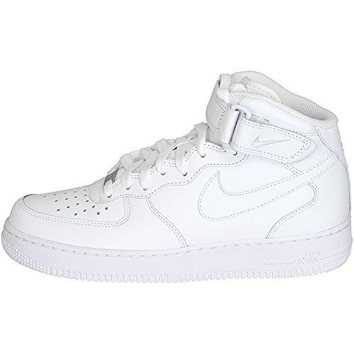 Nike Sneaker Air Force 1 Mid 07 weiß/weiß Weiß