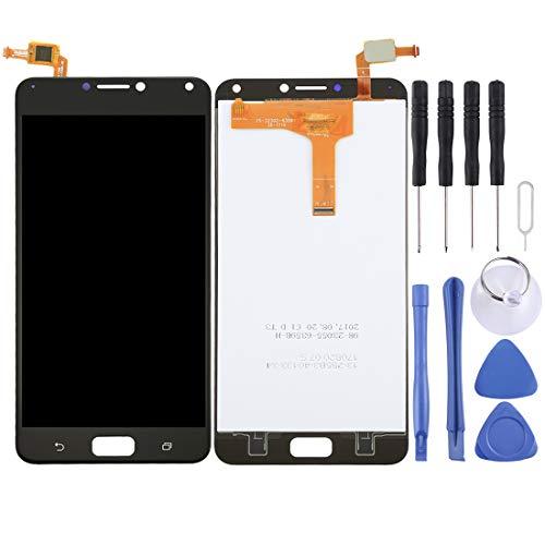 Zhangl Handy-LCD-Bildschirm LCD Screen und Digitizer Full Assembly für Asus ZenFone 4 Max / ZC554KL (Schwarz) LCD Bildschirm (Farbe : Black)