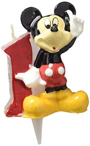 Dekoback 02-08-00086 Kuchenkerze Zahl 1 Minnie (Mickey Geburtstag Zahl)