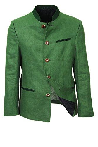 Elmau Herren Trachten-Sakko grün, originale Trachtenjacke, echter Trachten-Janker zur Trachten-Lederhose (48)