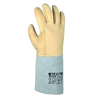 1 Paar Schweißerhandschuhe Argon III, Arbeitshandschuhe, Größe:10 (XL)