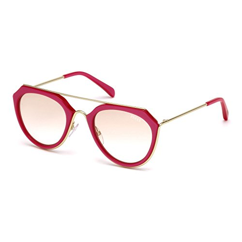 emilio-pucci-ep0045-o-geometrico-acetato-metal-mujer-red-brown-shaded-cat172f-51-22-135