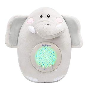 Bubzi Co Baby Spielzeug Spieluhr Baby- Elefant – Weißes Rauschen Sound machine – Kleinkind Schlafhilfe – Baby Nachtlicht – Einzigartiges Baby Geschenk – Kinderwagen Spielzeug Geschlechts neutral