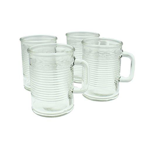Yorkshire wiith Mason-Set di tazze con manico, 17,5 cl, confezione da 4 pezzi