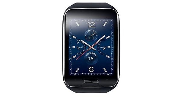 Samsung Gear S Montre connectée pour Smartphone Noir: Amazon.fr: High-tech