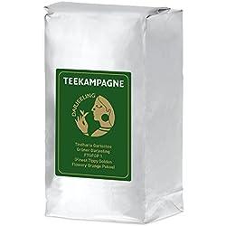 Teekampagne Darjeeling-Grüntee Tindharia - milder Biotee (kbA), 500g, Finest Tippy Golden Flowery Orange Pekoe (FTGFOP1)