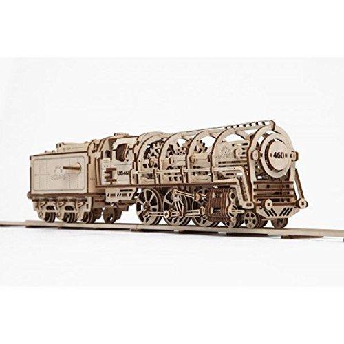 Ugears 70012 - Locomotive mit Tender, 3D-Holzbausatz gebraucht kaufen  Wird an jeden Ort in Deutschland