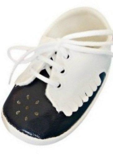 Festlicher Schuh für Taufe Hochzeit Taufschuhe Jungen Mädchen Baby Babies Kind Kinder TP21 9 cm Gr.16
