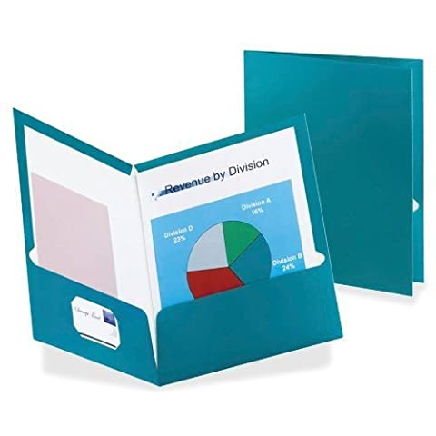 ESS5049561 - Two-Pocket Laminated Folder by