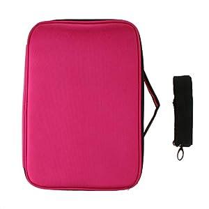 F Fityle Tragebarer Kosmetikkoffer Schminktasche Kosmetiktasche Makeup Tasche Toiletbag Beauty Case Reisengepäck für…