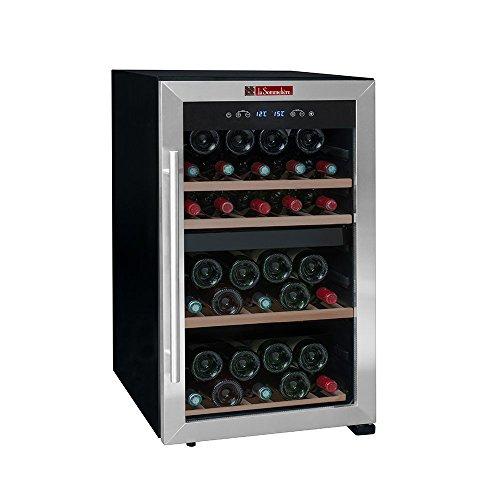 Cave à vin double zone de mise à température LS50.2Z La Sommelière | 50 bouteilles – Deux zones de températures | Commandes tactiles