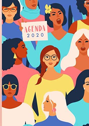 Agenda 2020: Diario 2020, formato A5, un giorno per pagina, Agenda personale 2020, Agenda giornaliera 2020 A5, da Gennaio a Dicembre 2020