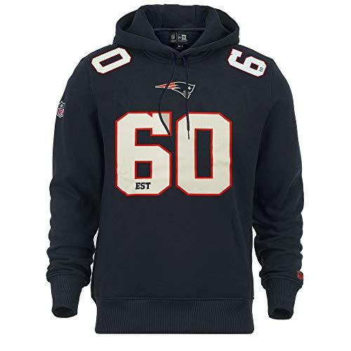 New Era New England Patriots Hoody NFL Established Number Navy - M -