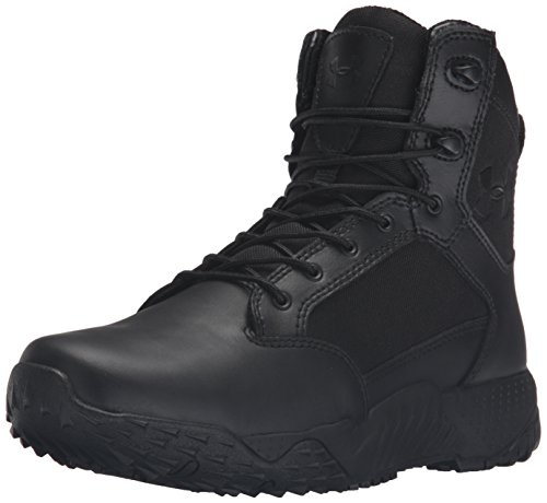 Under Armour Women's Stellar Military and Tactical Boot, Black 001/Black, 7
