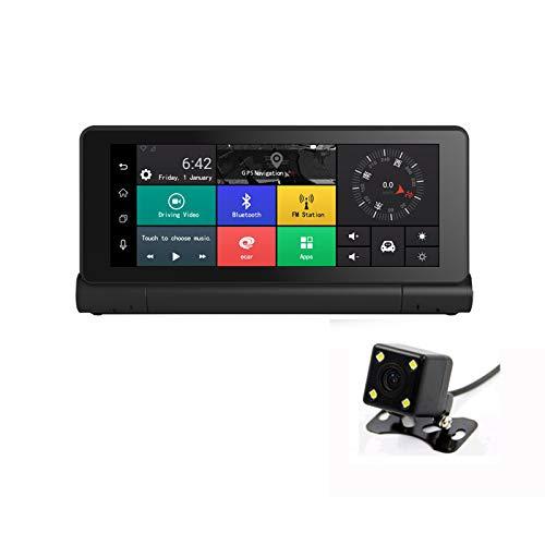 WWAVE Mittelkonsole 4G Wolken-Spiegel, der Recorder-HD 1080P Nachtsicht-Bluetooth-Umkehrbild-elektronische Hundegriffsteuerung fährt