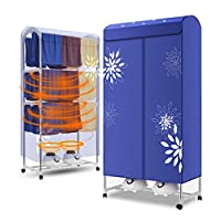 Household Clothes Dryer Large Capacity 30kg-2000W High Power Silent Power Saving Indoor Dry Hanger
