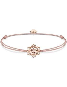 Thomas Sabo Damen-Armband 925 Silber teilvergoldet Zirkonia weiß 0.70 cm - LS016-898-19-L20v