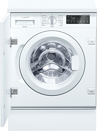 Siemens iQ700 wi14 W540eu Integrated Front Loading 8 kg 1400RPM A + + + -30% White - Washing Machine (Built-in, Front Loading, White, Left, LED, 2.25 m)