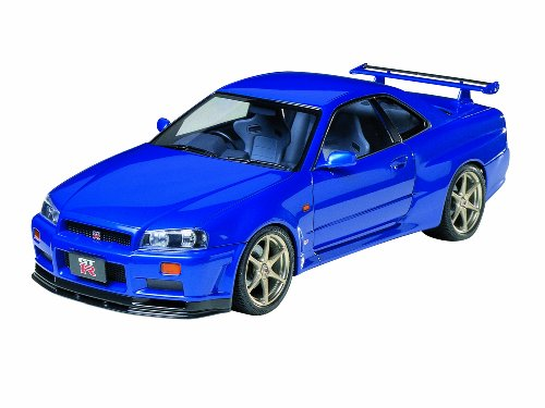 Tamiya 24210 Nissan Skyline GT-R R34 1:24 Plastic Kit