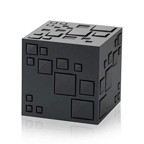 Ljshu altoparlante bluetooth mini wireless portatile subwoofer scheda plug-in creativo design cubo di rubik,black