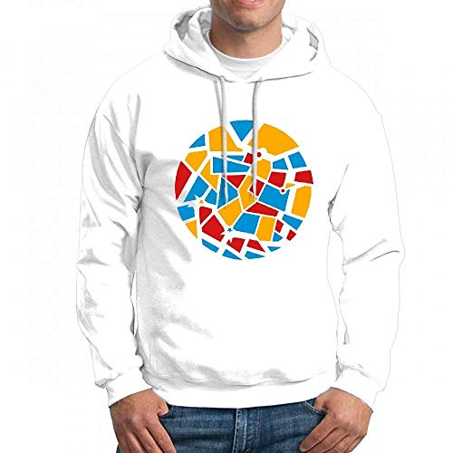 Men's Sweatshir Mosaic Design Custom Mens Hoodies