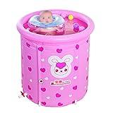 Tianyi Yugang Babybadewanne Aufblasbarer Komfort Weiche und Komfortable Badewanne PVC 80 * 80cm