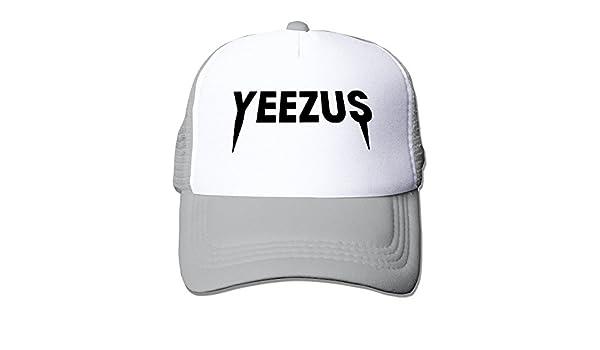 XCarmen Red YEEZUS Kanye West Album Snapbacks Strapback Hats Black
