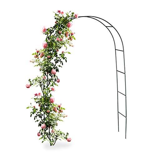 Arco per rose rampicanti in metallo graticcio