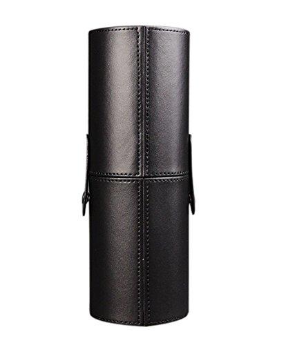 Kit de maquillage professionnel cosmétique récipient, 22.3x7.7 CM(noir)