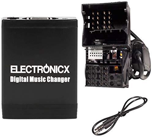 Electronicx Elec-M06-BM2 Digitaler Musikadapter USB, SD, AUX,BMW, Land Rover, Mini Flachpin Autoradio stereo mp3 player (Range Rover Cd-wechsler)