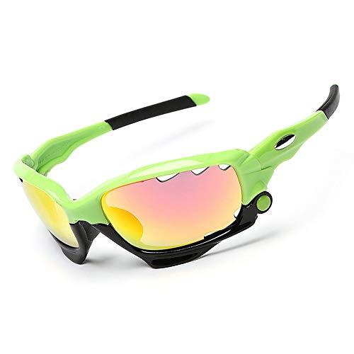 Yiph-Sunglass Sonnenbrillen Mode Sonnenbrille Three Multicolor Sports Sonnenbrille Fahrradbrille Fahrradbrille Sports Outdoor Fahrradbrille (Farbe : Weiß)