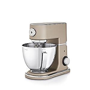 WMF Profi Plus Küchenmaschine, 1000 W, 5 l, Planetarisches Rührwerk, 8 Geschwindigkeitsstufen, platin bronze