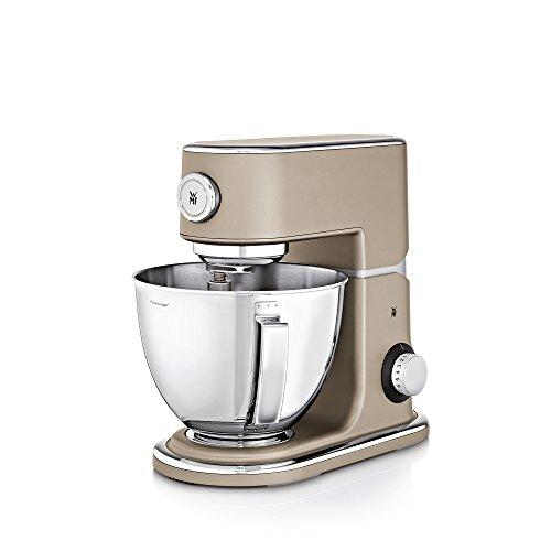 WMF Profi Plus Küchenmaschine, 1000 W, Cromargan-Rührschüssel 5 l, planetarisches Rührwerk, 8 Geschwindigkeitsstufen, platin bronze -