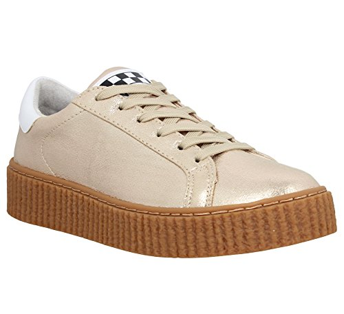 No Name ,  Sneaker donna oro oro 39