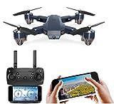 Amitasha Wi-Fi RC Quadcopter 720P Camera Foldable Drone with Altitude Hold