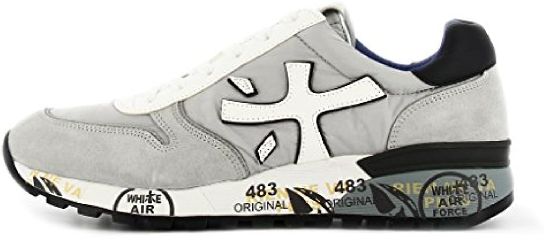 PREMIATA - Zapatillas para hombre gris gris